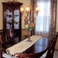 Solid Cherry Dining Room set for sale in Youngstown NY by Garage Sale Showcase member Beachbum, posted 10/14/2019