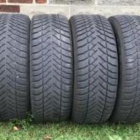 4 - P225 60R X 18 Goodyear M&S Tires for sale in Hermitage PA by Garage Sale Showcase member JSprop1850, posted 10/24/2019