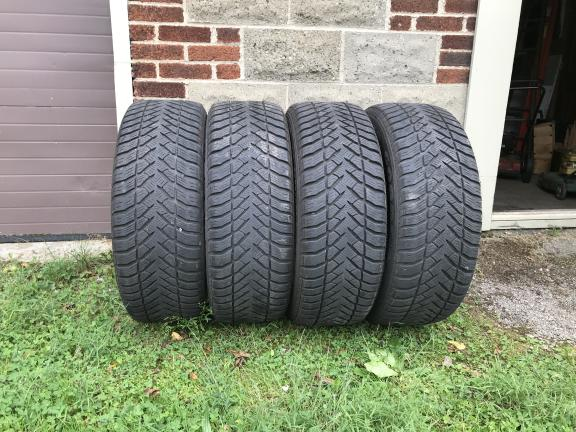 4 - P225 60R X 18 Goodyear M&S Tires for sale in Hermitage PA