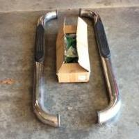 Step Bars - chrome for sale in Ozark AR by Garage Sale Showcase member roslynspoon, posted 01/23/2020