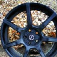 "4 18"" custom blk rims off 2016  chrysler 200 great condition for sale in Glen Burnie MD by Garage Sale Showcase member DiDi6996, posted 12/22/2019"