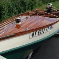 Antique Wooden Boat for sale in Stillwater NY by Garage Sale Showcase member shuster, posted 11/25/2019
