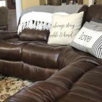 Sectional Leather Sofa for sale in Saluda County SC by Garage Sale Showcase member Teeneel, posted 11/29/2019