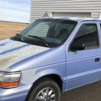 Minivan Plymouth Grand Voyager '93 for sale in Pine Bluffs WY by Garage Sale Showcase member D & J Parsons, posted 11/09/2019