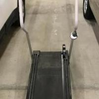 Treadmill, manual operation for sale in Pine Bluffs WY by Garage Sale Showcase member D & J Parsons, posted 11/09/2019