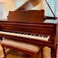 1927 Kimball Baby Grand Piano for sale in Marlton NJ by Garage Sale Showcase member sgrubb, posted 08/31/2019