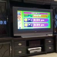 Entertainment Wall for sale in Fishers IN by Garage Sale Showcase member MarkL, posted 12/13/2019