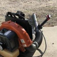 Husquvarnia gas blower for sale in Pinehurst NC by Garage Sale Showcase member Billpace1950, posted 01/01/2020