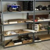 Shelving for sale in Pinehurst NC by Garage Sale Showcase member Billpace1950, posted 12/24/2019