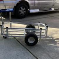 Reels on wheels fishing cart for sale in Pinehurst NC by Garage Sale Showcase member Billpace1950, posted 12/28/2019