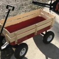 Red wagon for sale in Pinehurst NC by Garage Sale Showcase member Billpace1950, posted 01/01/2020