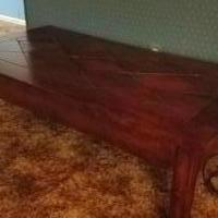 Coffee table and two matching for sale in Urbana OH by Garage Sale Showcase member Tambo43078, posted 10/24/2019