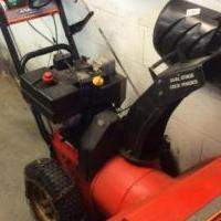 Canadana Snowblower for sale in East Liverpool OH by Garage Sale Showcase member CRT42884, posted 12/21/2019