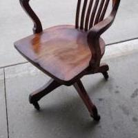 Desk chair for sale in Fort Wayne IN by Garage Sale Showcase member Gregfromin, posted 09/17/2019