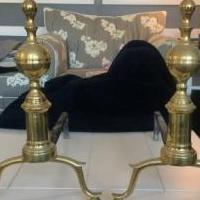 Antique andirons for sale in White Plains NY by Garage Sale Showcase member Chatter01, posted 10/30/2019