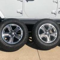 Jeep Wrangler 2019 tires, wheels, parts lot for sale in Carey OH by Garage Sale Showcase member Billystump1, posted 01/31/2020