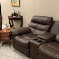 Couch and chair for sale in New Baden IL by Garage Sale Showcase member Larry49, posted 12/05/2019