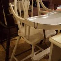 Antique highchair from 1930 for sale in Brockton PA by Garage Sale Showcase member Peppermint Patty, posted 01/20/2020