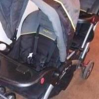 BABY TREND DOUBLE STROLLER for sale in Owatonna MN by Garage Sale Showcase member Doofydragon, posted 10/21/2019
