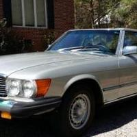 Mercedes Benz 450 SL 1979 for sale in Pinehurst NC by Garage Sale Showcase member anthonyewyatt@gmail.com, posted 10/15/2019