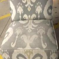 Modern armless chair for sale in Wilmington DE by Garage Sale Showcase member cubes12, posted 10/23/2019