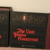 Mozart vinyl classical 10 LPs collection for sale in Paramus NJ by Garage Sale Showcase member Par007, posted 01/20/2020