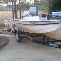 Fixer upper Bass boat,trailer,fish finder,trolling motor for sale in Vass NC by Garage Sale Showcase member cptanesthesia, posted 10/20/2019