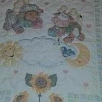 Baby Quilt Homemade for sale in Ballwin MO by Garage Sale Showcase member KYLE567, posted 12/08/2019
