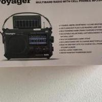 Voyager solar & crank multiband radio for sale in Matawan NJ by Garage Sale Showcase member Lppflug, posted 08/30/2020