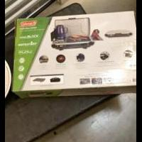 Coleman Camp Grill/Stove for sale in Matawan NJ by Garage Sale Showcase member Lppflug, posted 08/30/2020