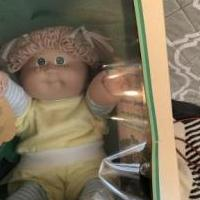 1984 coleco cabbage patch kid for sale in Shamokin PA by Garage Sale Showcase member Spartan, posted 03/09/2020
