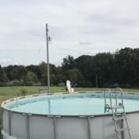 Coleman Pool for sale in Gregory MI by Garage Sale Showcase member Ctnyman, posted 09/02/2020
