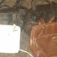 Womens purses for sale in Eufaul OK by Garage Sale Showcase member Mikejones, posted 02/22/2020