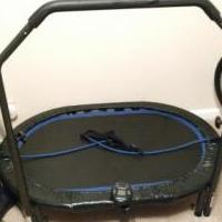 Exercise Trampoline for sale in Randolph County GA by Garage Sale Showcase member coachandrews, posted 03/01/2020