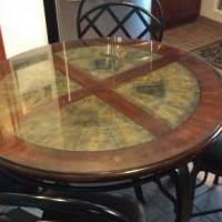 Kitchen Table & chairs for sale in River Edge NJ by Garage Sale Showcase member Schweigerm, posted 03/21/2020