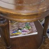 ANTIQUE TABLE for sale in Saint Joseph MI by Garage Sale Showcase member kpatzkowsky, posted 09/10/2020
