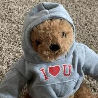 Teddy bear for sale in Oak Harbor OH by Garage Sale Showcase member Coreymac, posted 02/10/2020