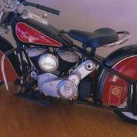 Vintage diecast motorcycle for sale in Springville TN by Garage Sale Showcase member Qcc1594, posted 03/12/2020