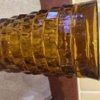 Vintage amber drinking glasses for sale in Springville TN by Garage Sale Showcase member Qcc1594, posted 03/12/2020
