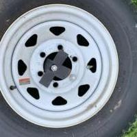 Mile star trailer tire for sale in Johnstown NY by Garage Sale Showcase member Karlh192, posted 07/11/2020