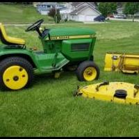 John Deere 210 Lawn Tractor for sale in Bellevue IA by Garage Sale Showcase member plmueller79, posted 05/25/2020