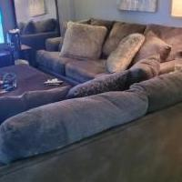 Matching sofa and loveseat for sale in Springfield VA by Garage Sale Showcase member eisbell5001@gmail.com, posted 06/06/2020