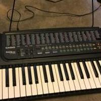 Casio Keyboard for sale in Saratoga Springs NY by Garage Sale Showcase member kimgama, posted 04/27/2020