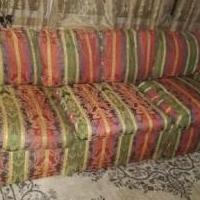 Duck Feather Rainbow Couch for sale in Dassel MN by Garage Sale Showcase member Durandus, posted 05/13/2020