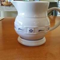 Water Pitcher by Longaberger Pottery for sale in Sterling Heights MI by Garage Sale Showcase member BandTstuff, posted 02/23/2020