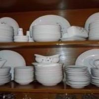 China One White Silver Star Light Dish Set for sale in Roseville MI by Garage Sale Showcase member Amarcano16, posted 06/29/2020