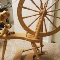 Kromski Symphony Spinning Wheel for sale in Libertyville IL by Garage Sale Showcase member Pen611, posted 07/15/2020