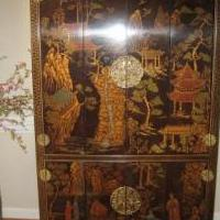 Asian Bar Armorie for sale in Pinehurst NC by Garage Sale Showcase member Michael11, posted 02/29/2020