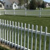 White vinyl fence for sale in Decatur IN by Garage Sale Showcase member bonhamdk, posted 05/04/2020