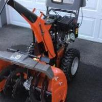 SNOWBLOWER for sale in Speculator NY by Garage Sale Showcase member Snowblower11, posted 07/29/2020